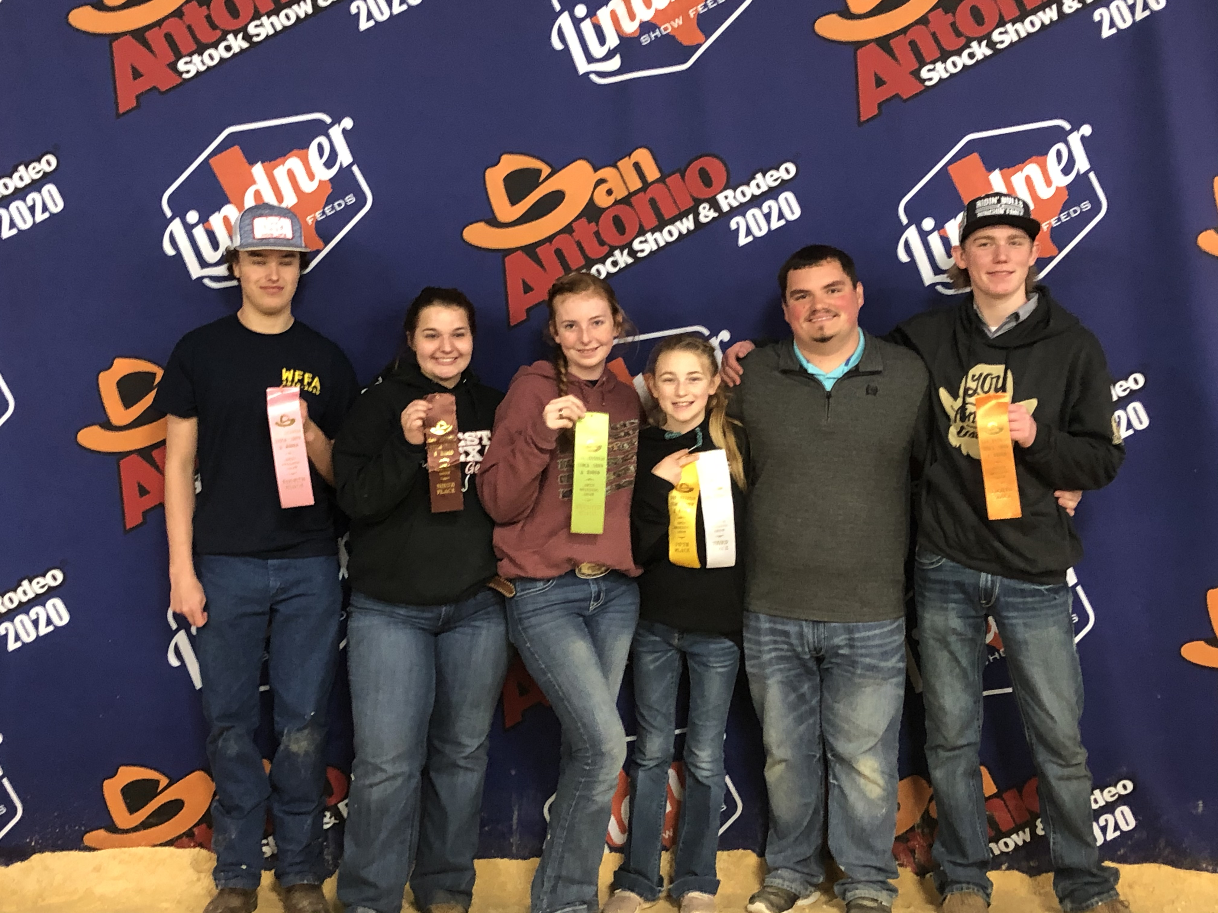 Wimberley FFA Students Place in Top 10