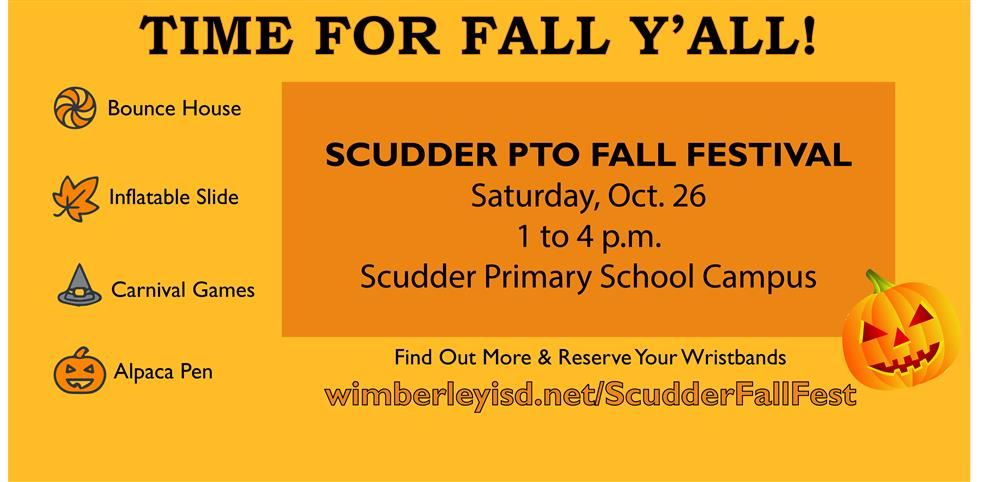 If It's Fall, It's Time for Scudder PTO Fall Festival