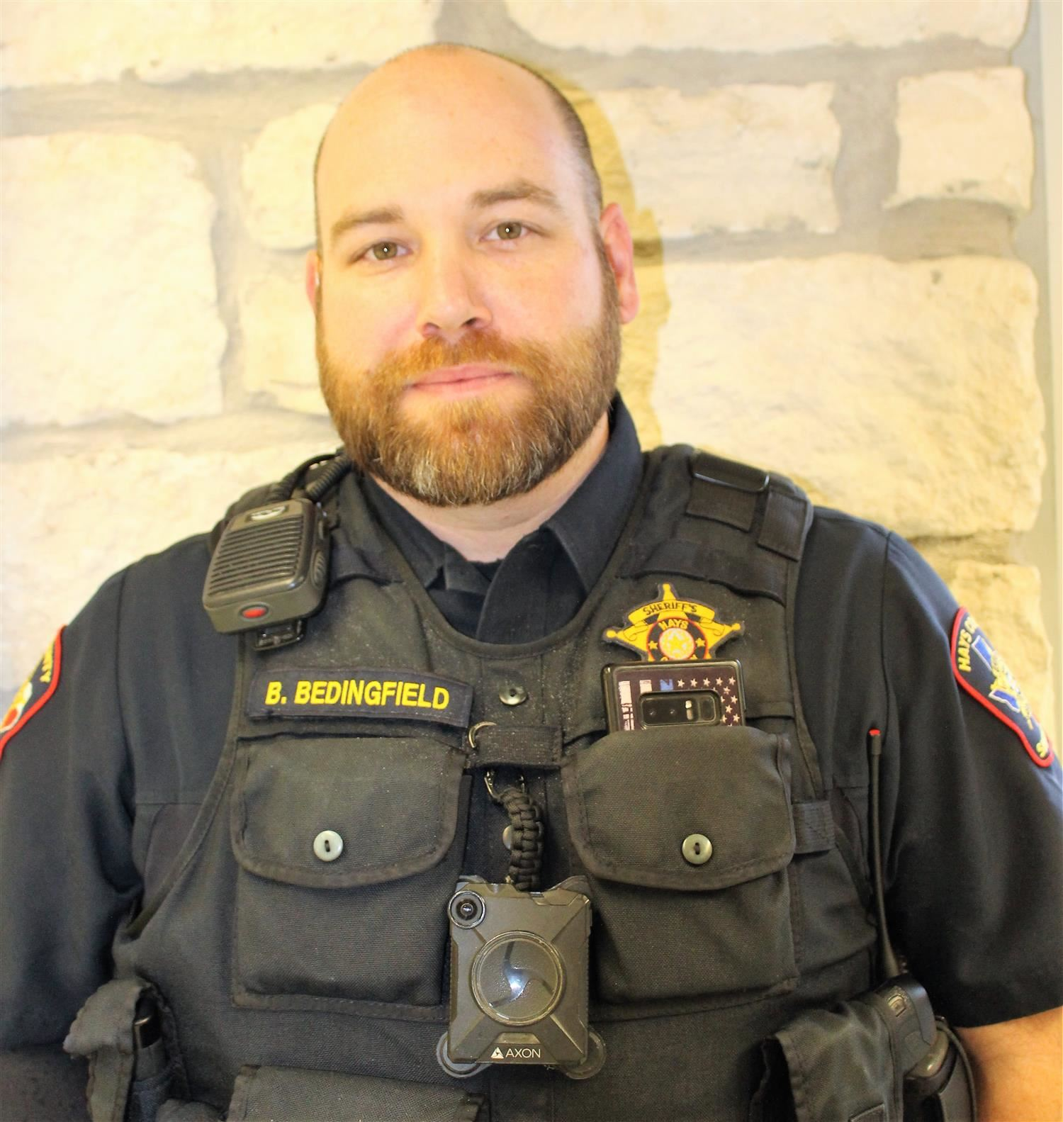 Brian Bedingfield, Junior High School Resource Officer