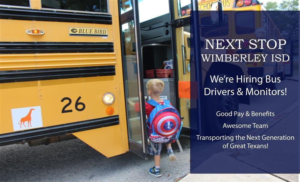 Bus Driver Recruitment Banner