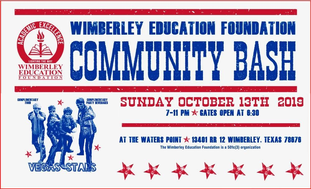 Community Bash Flyer