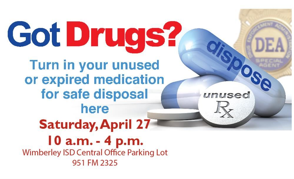 Drug Take-Back This Weekend