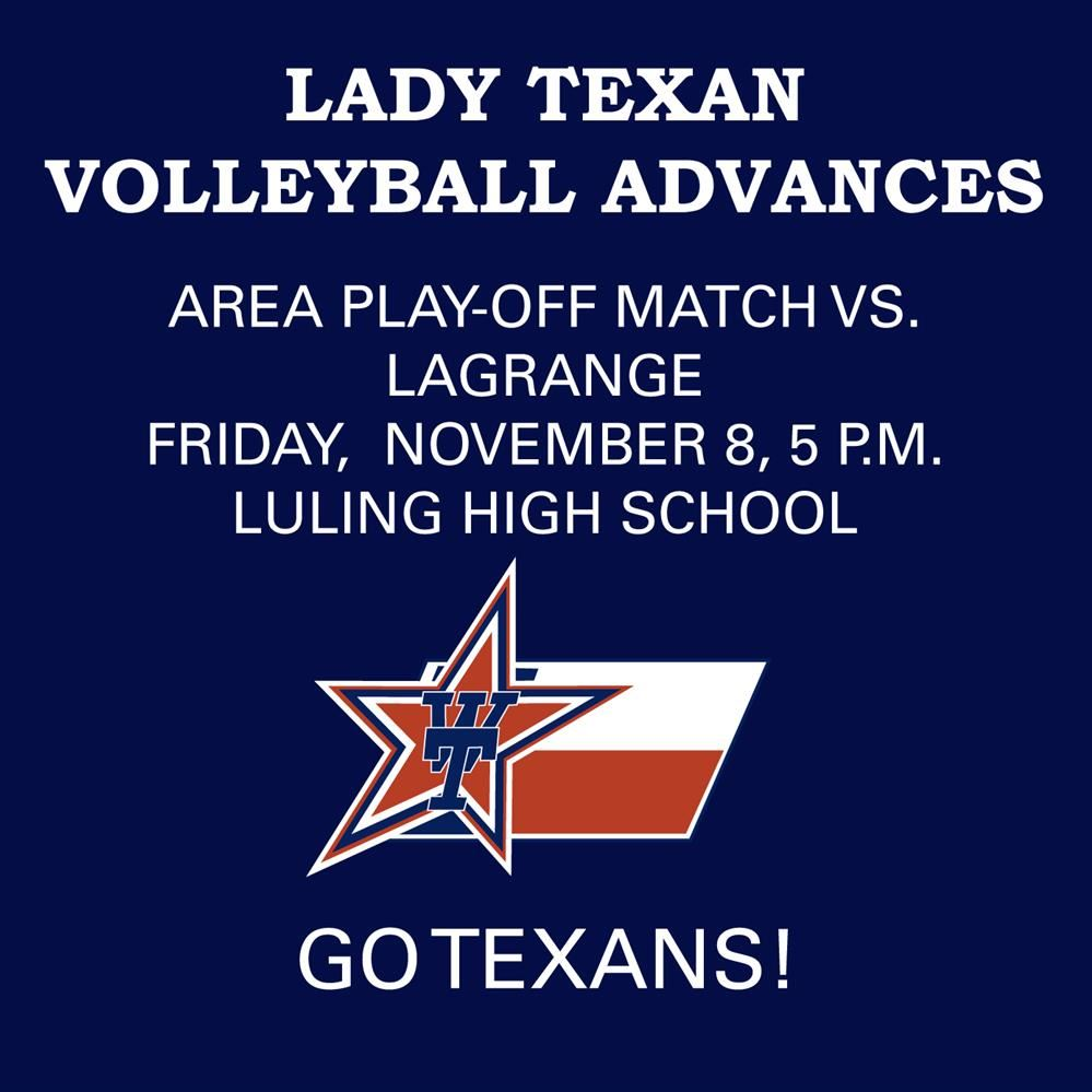 Lady Texans Advance Graphic