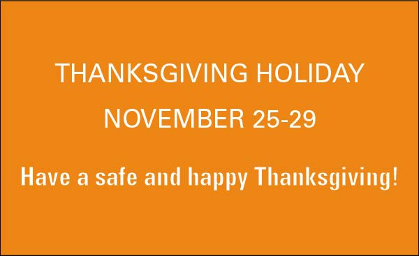 Thanksgiving Holiday Graphic