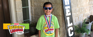 "JWE Student Recognized by H-E-B ""Be a Buddy"" Program"