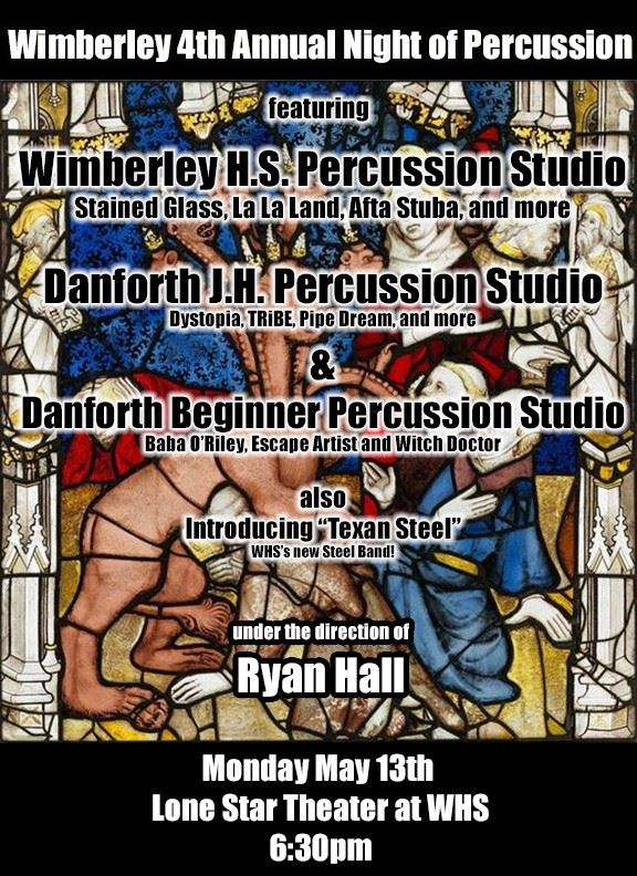 Percussion Studio Flyer