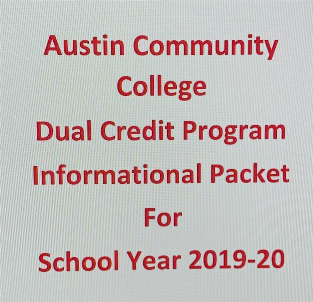 ACC Dual Credit Info Packet 19-20